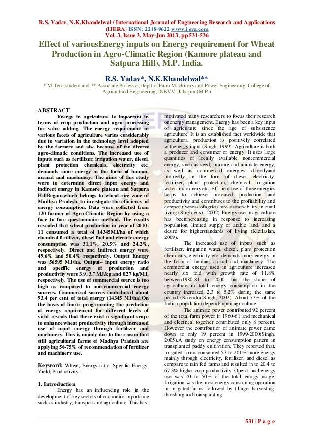 R.S. Yadav, N.K.Khandelwal / International Journal of Engineering Research and Applications(IJERA) ISSN: 2248-9622 www.ije...