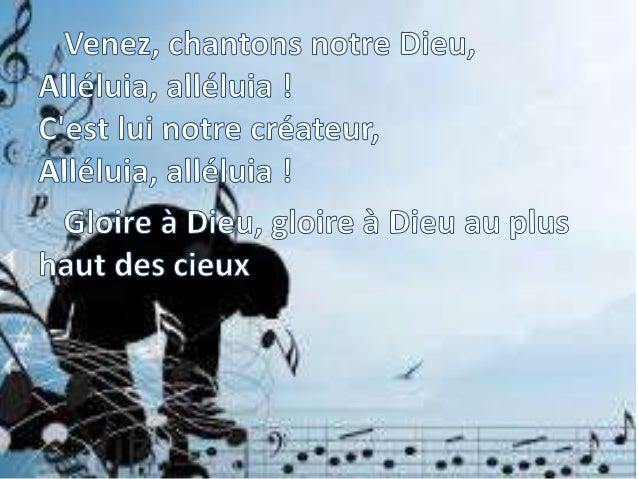 CL601 Louange et Gloire à ton nom Slide 2