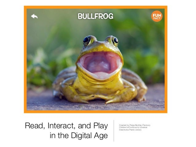 Read, Interact, and Play    Created by Paige Bentley-Flannery                            Childrens/Community Librarian    ...