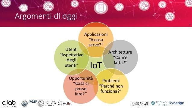 Humans vs. the Internet of Things: conciliare tecnologie ed esperienza utente Slide 2