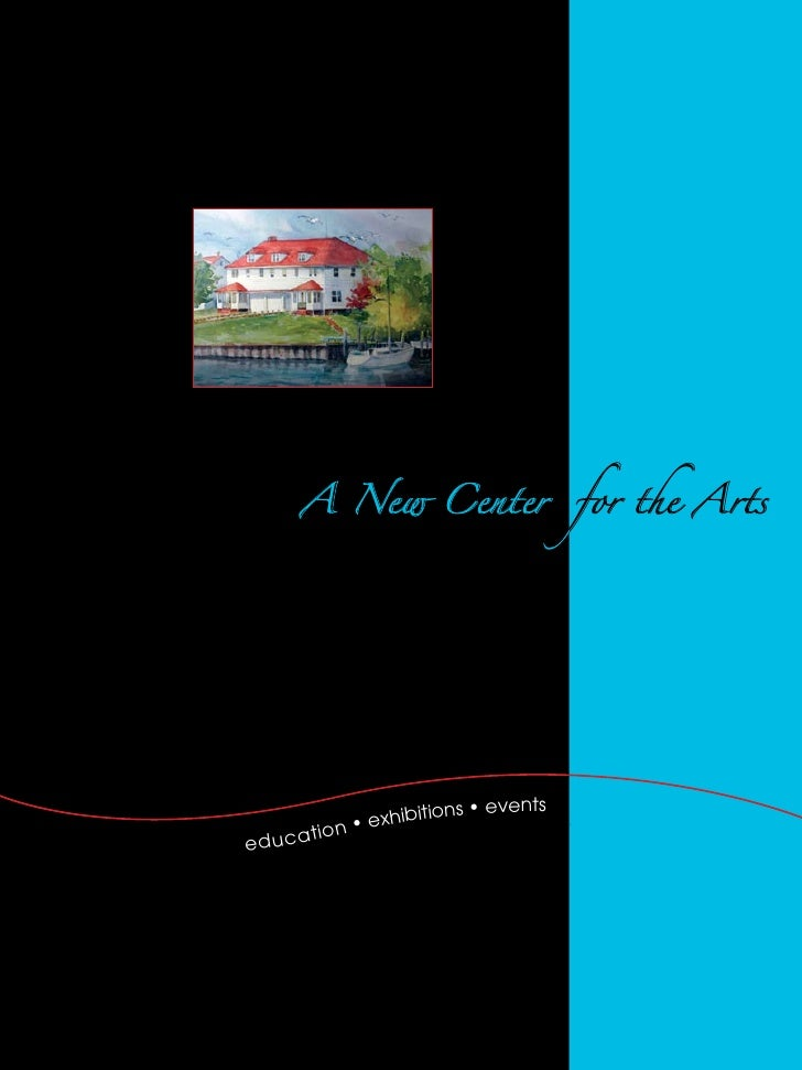 A New Center                       for the Arts                                                             s	•	events    ...