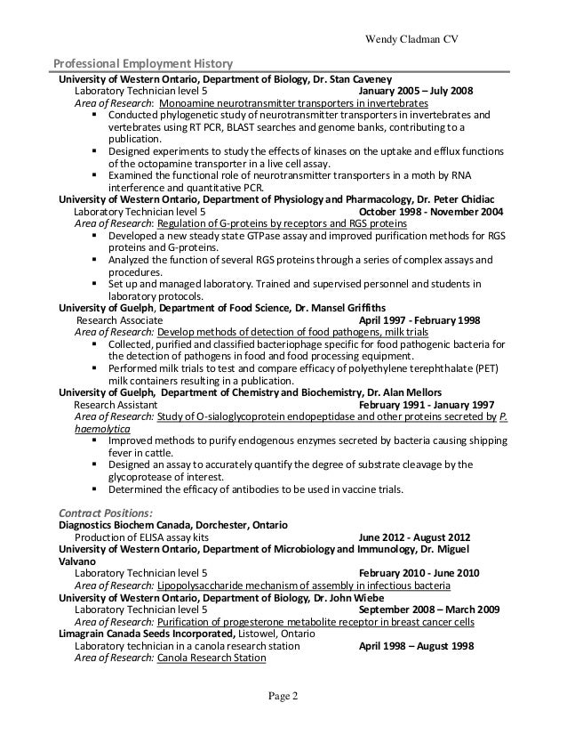 supervision of personnel 2 wendy cladman cv