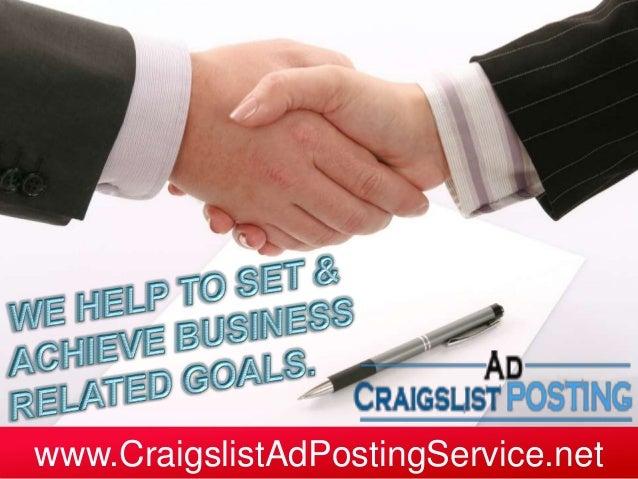 www.CraigslistAdPostingService.net