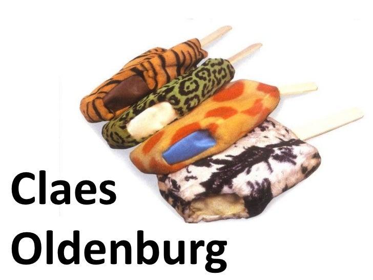 Claes Oldenburg<br />