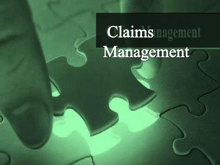 Claims  Management<br />