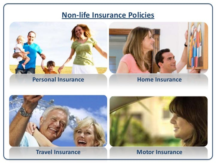 Non-life Insurance Policies Health Insurance          Personal Accident InsuranceBusiness Insurance      Yachts & Pleasure...