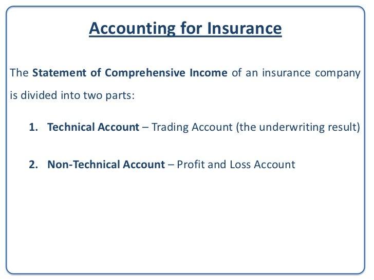 Technical Accounts of aNon-Life InsuranceCompany(GasanMamo Insurance LimitedAnnual Reports and Financial Statements31 Dece...