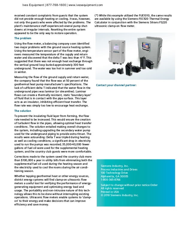 Clamp-on Ultrasonic Flowmeters for HVAC: How They Measure Up