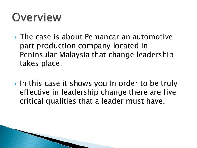 pemancar case study Answer to read the pemancar case study, as presented in the article by abdullah & siti-nabiha, and prepare a report that addresses the following.