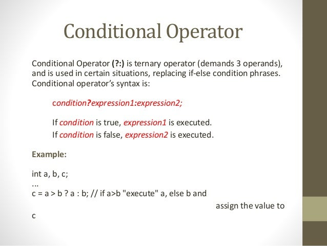 Lecture03(c expressions & operators).