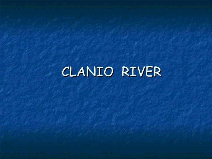 CLANIO  RIVER