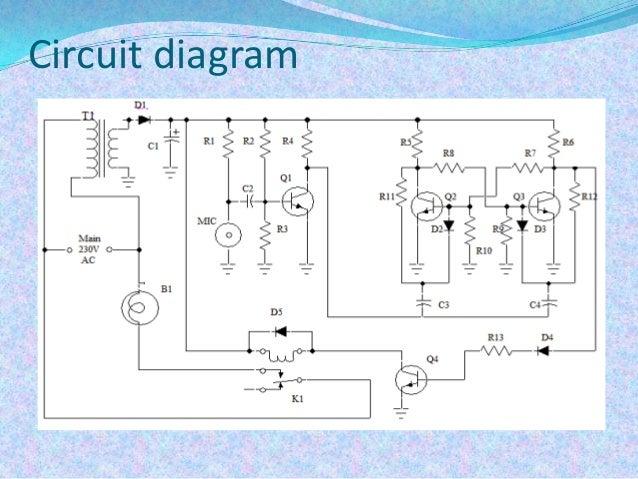 Clap Switch Circuit Diagram | Clap Switch