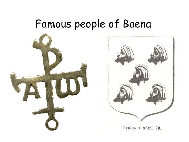 Famous people of Baena