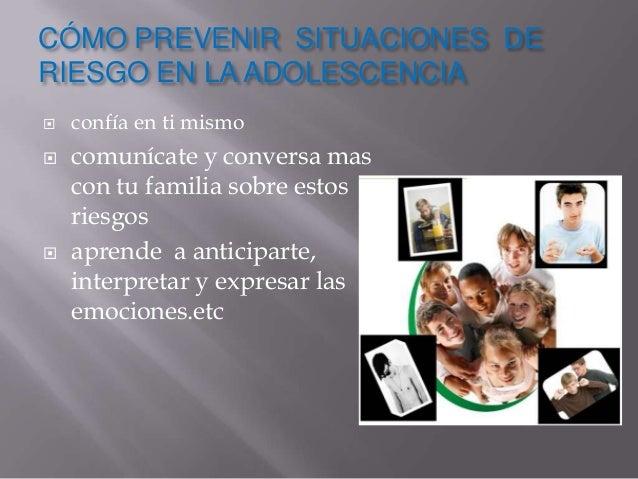 situaciones de riesgo y peligro  Slide 2