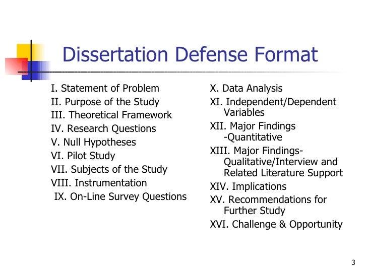 Dissertation chair problems