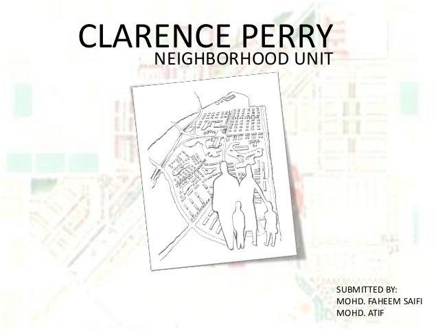 Clarence perry faheem atif