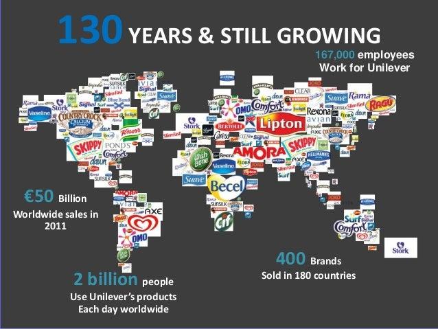 3 http://totallyunrelatedrandomanddebatable.blogspot.com/ €50 Billion Worldwide sales in 2011 2 billion people Use Unileve...