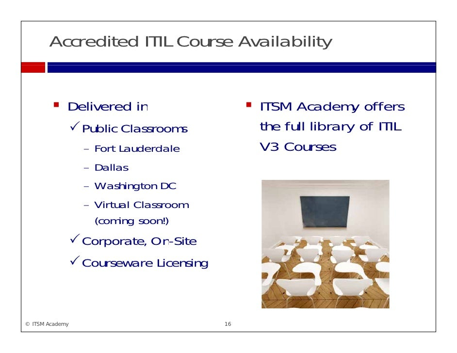 Clarifying Itil Lifecycle And Capability Courses