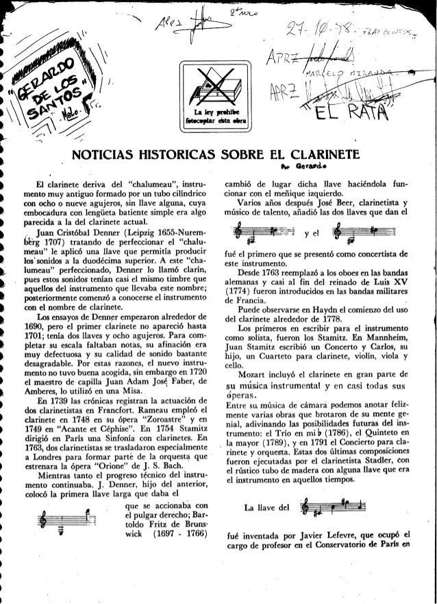 Clarinete   método - magnani - completo (em espanhol)