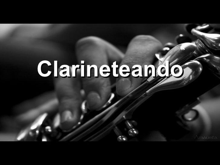 Clarineteando