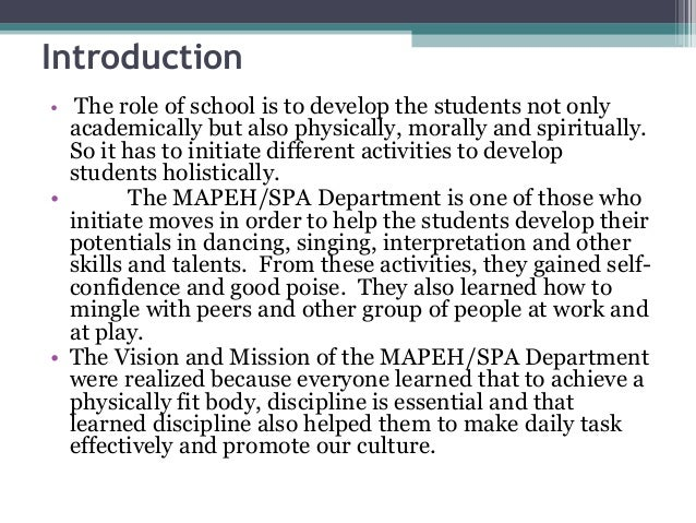 Clarin Nhs Spa Accomplishment Report
