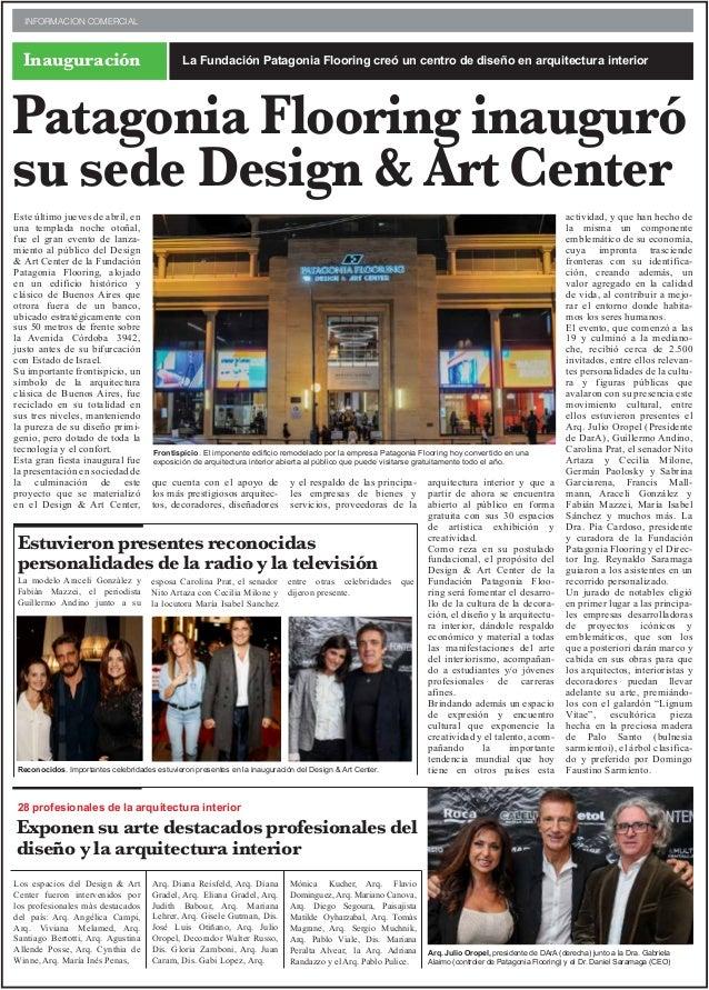 Este último jueves de abril, en una templada noche otoñal, fue el gran evento de lanza- miento al público del Design & Art...