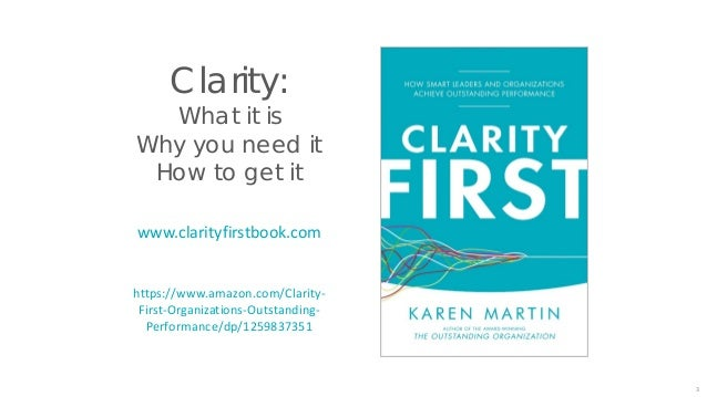 Clarity First: Process & Performance Slide 3