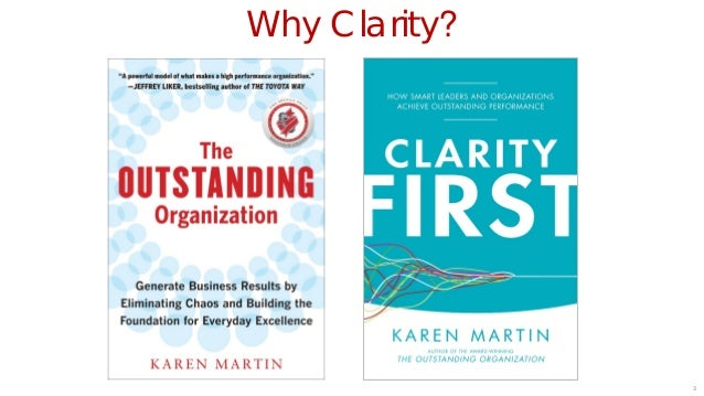 Clarity First: Overview (1 of 5 webinars) Slide 3