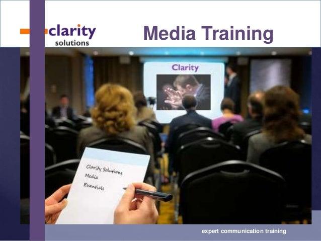 Media Training expert communication training