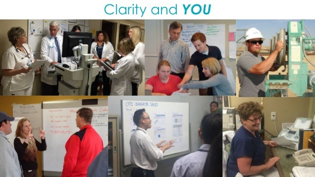 42 Lean management lights the path to excellence. Clarity is at the core of it all. And clarity begins with you.
