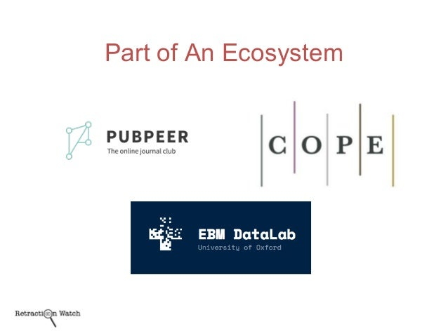 Part of An Ecosystem