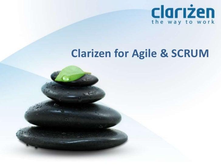 Clarizen for Agile & SCRUM