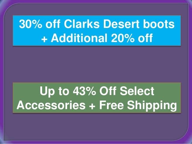 Clarks 20 coupon code