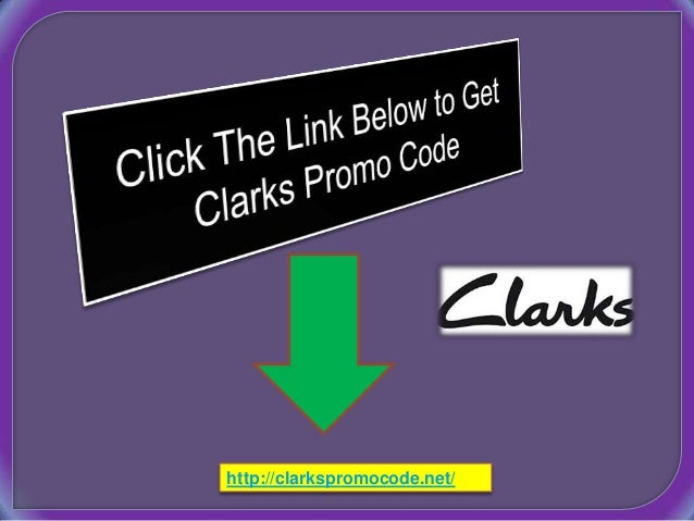 Promo Code Clarks Shoes Online
