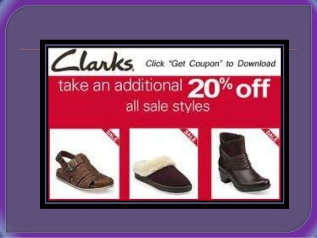 Clarks coupon codes