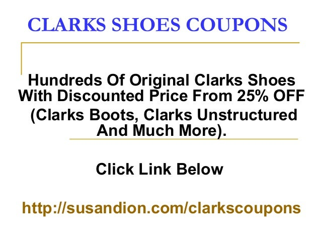 If you are shopping for shoes online, you should definitely pay a visit to the Clarks online store. Discover the latest footwear trends for men, women and children and take advantage of some amazing discount offers. From sandals and boots to sneakers and flats, Clarks 4/5(1).