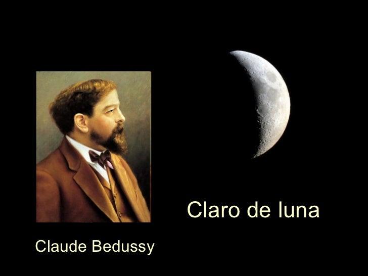 Claro de luna Claude Debussy