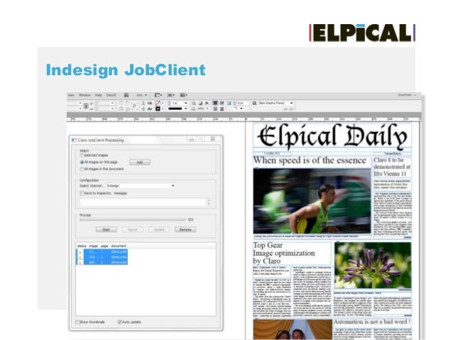 Indesign JobClient