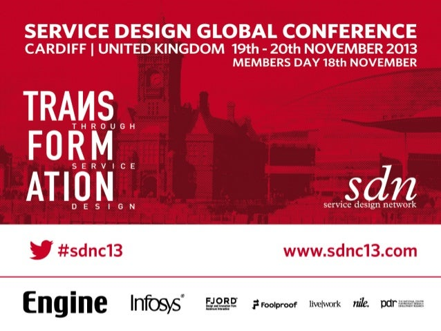 Service design for networked business models	 Service Design Network Conference, Cardiff, 2013	 Aldo de Jong, Co-Founder, C...