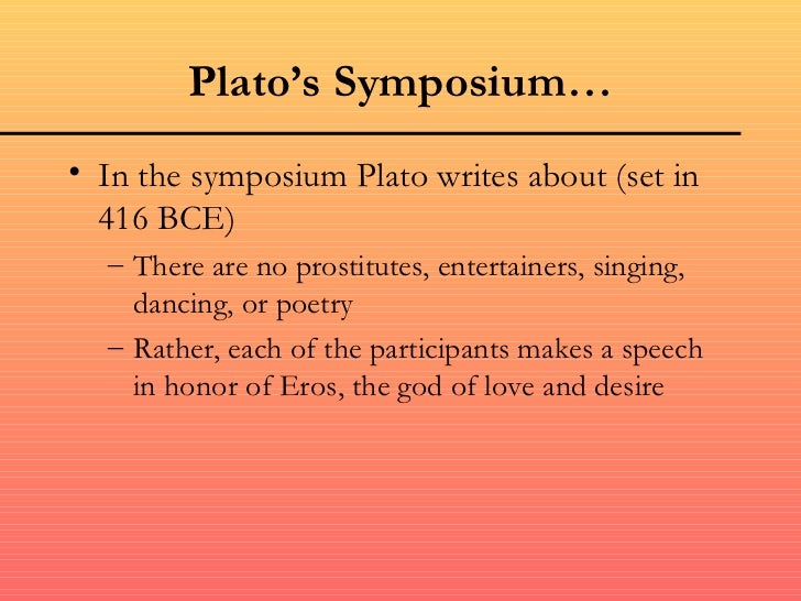 Plato symposium summary
