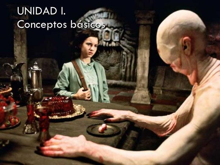 UNIDAD I.  Conceptos básicos