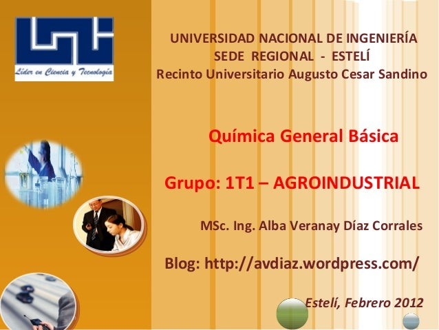 www.themegallery.com LOGO UNIVERSIDAD NACIONAL DE INGENIERÍA SEDE REGIONAL - ESTELÍ Recinto Universitario Augusto Cesar Sa...