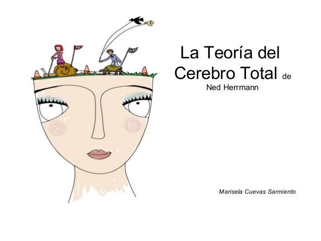 La Teoría del Cerebro Total de Ned Herrmann Marisela Cuevas Sarmiento