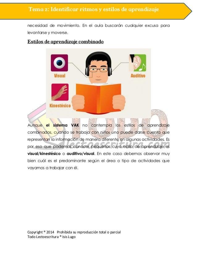 Copyright ® 2014 Prohibida su reproducción total o parcial Todo Lectoescritura ® Isis Lugo Tema 2: Identificar ritmos y es...