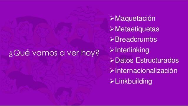 Más Mujeres en SEO Clase 2 - Paula Alvarez Slide 2