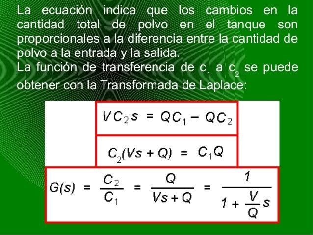 5) SISTEMAS DE NIVEL En los sistemas de nivel los cambios en el volumen del líquido en el tiempo son iguales a la entrada ...