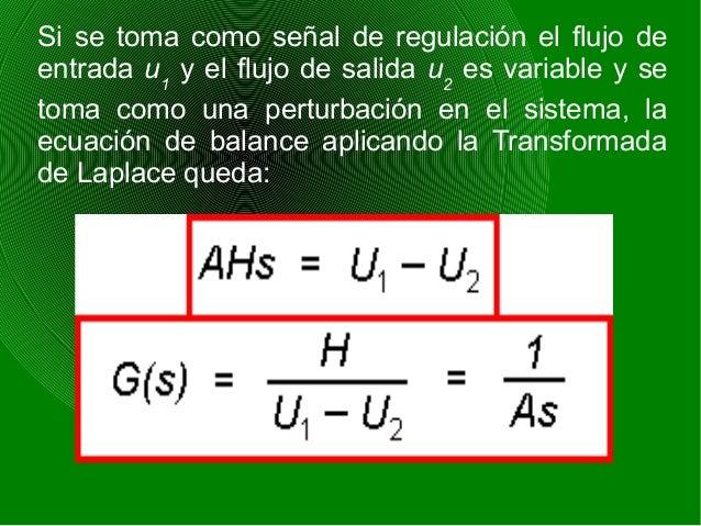 6) SISTEMAS DE TRANSPORTE Este tipo de sistemas es aquel que tarda un tiempo en llevar el material, líquido o gas, de un p...