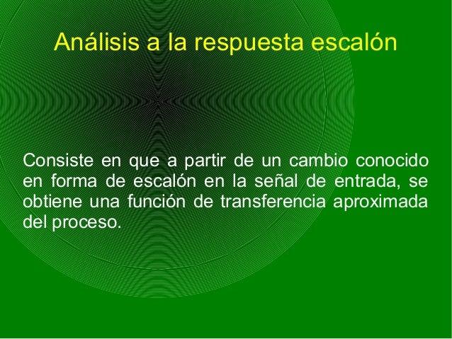 Análisis experimental de frecuencias Consiste en que al tener las señales sinusoidales del proceso, éstas se usan para pod...