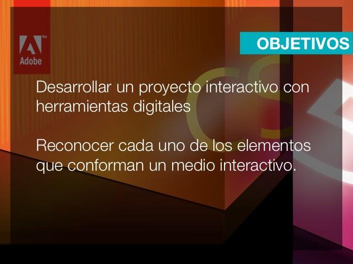 Introducción a Adobe Flash Slide 2