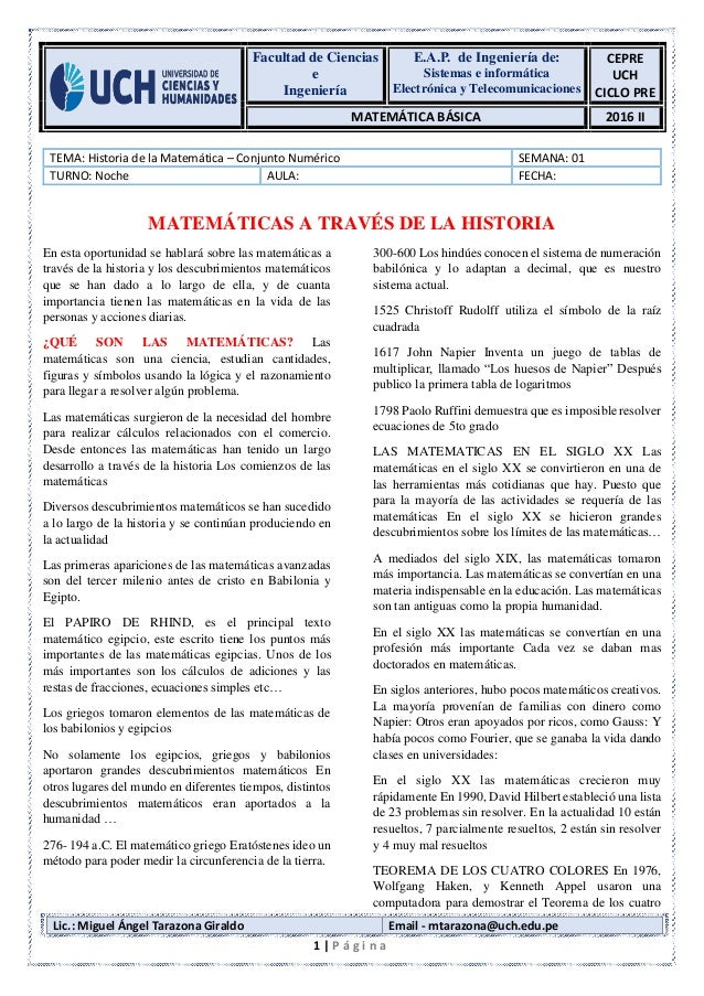 Facultad de Ciencias e Ingeniería E.A.P. de Ingeniería de: Sistemas e informática Electrónica y Telecomunicaciones CEPRE U...